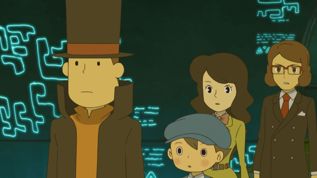 professor layton and azran legacy